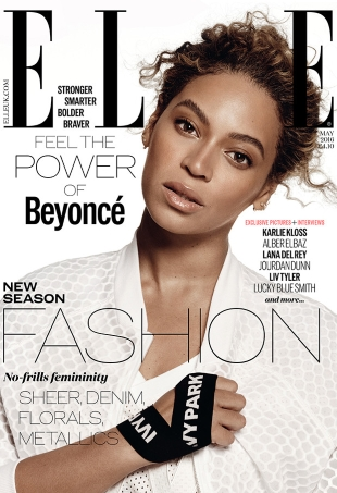UK Elle May 2016 : Beyoncé by Paola Kudacki