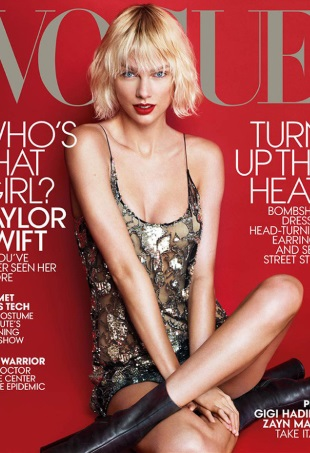 US Vogue May 2016 : Taylor Swift by Mert Alas & Marcus Piggott