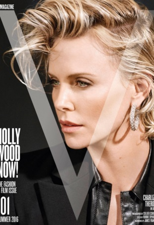 V Magazine #101 Summer 2016 : Charlize Theron by Collier Schorr