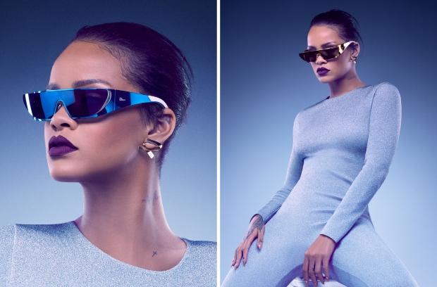 Christian Dior x Rihanna Eyewear 2016 : Rihanna by Jean-Baptiste Mondino