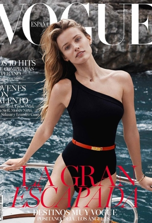 Vogue España June 2016 : Edita Vilkeviciute by Benny Horne