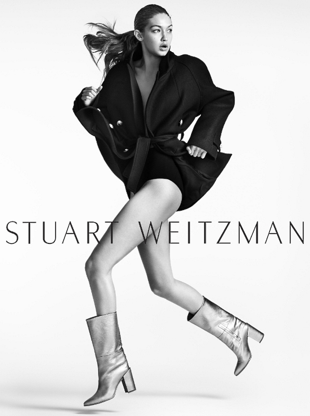 Stuart Weitzman F/W 2016.17 : Gigi Hadid by Mario Testino