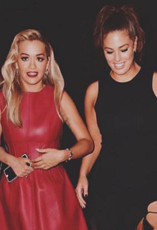 Rita Ora and Ashley Graham party in New York City, where they're currently filming America's Next Top Model.