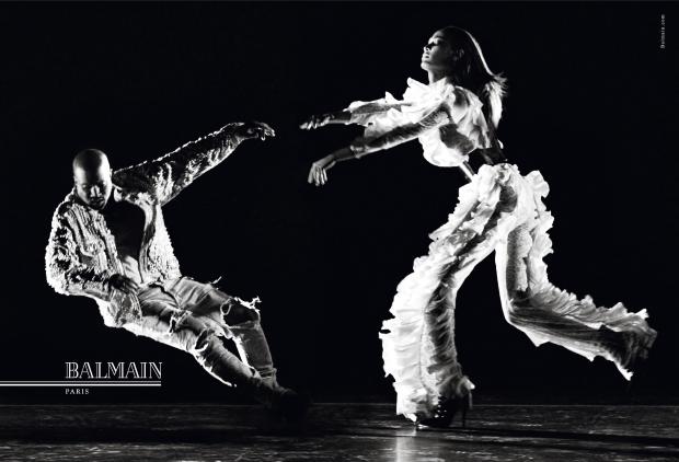 Balmain F/W 2016.17 : Joan Smalls & Kanye West