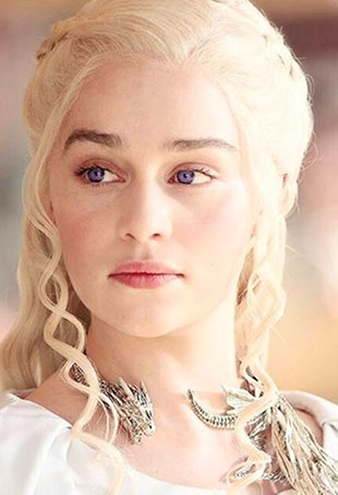 Mey Design's debut collection features 20 pieces of jewelry seen on and inspired by Khaleesi — including that iconic dragon choker.