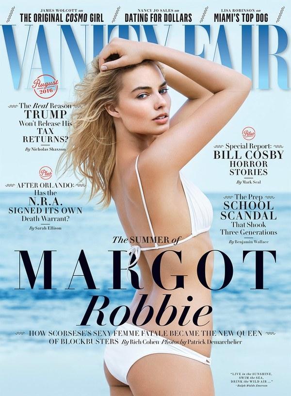 Vanity Fair August 2016 : Margot Robbie by Patrick Demarchelier