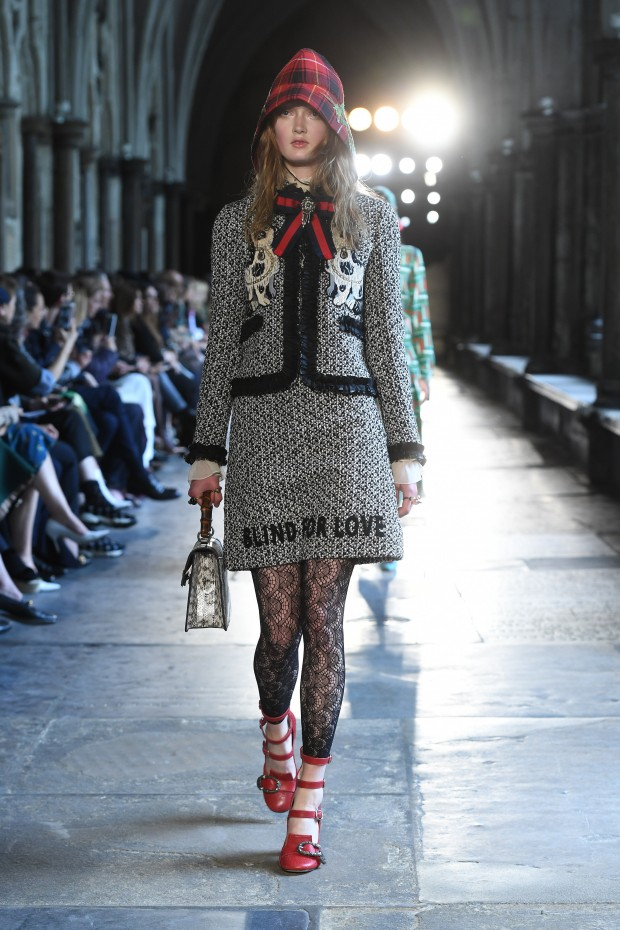 Gucci's tweed-friendly London Cruise show channeled the Victorian detective.