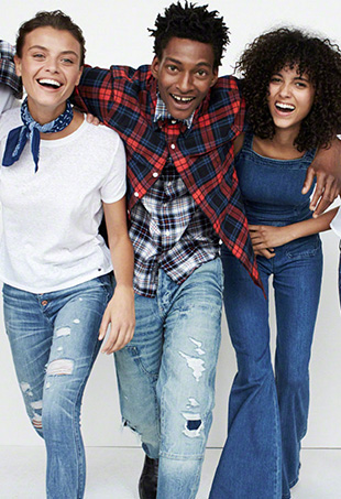 Abercrombie & Fitch's first campaign under its rebrand is — refreshingly — filled with diverse, fully clothed models.