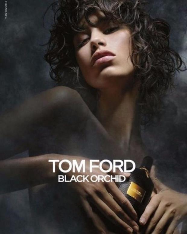 Tom Ford 'Black Orchid' Fragrance 2016 : Mica Arganaraz by Nick Knight
