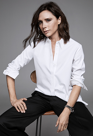 Victoria Beckham for Target launches April 9, 2017.