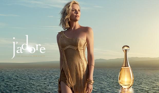 Christian Dior 'J'adore' Fragrance 2016 : Charlize Theron by Jean-Baptiste Mondino