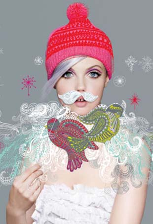 Lindsey Wixon covers the Neiman Marcus Christmas Book's 90th edition.