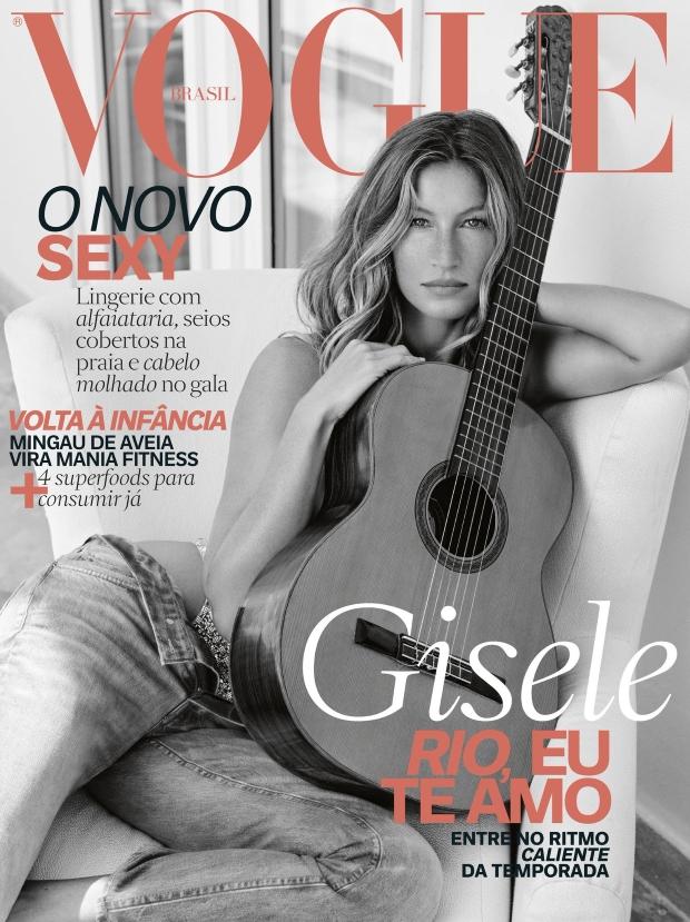 Vogue Brazil November 2016 : Gisele Bündchen by Nino Muñoz