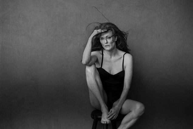 Julianna Moore in the 2017 Pirelli Calendar.