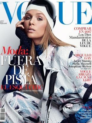 Vogue España January 2017 : Josephine Skriver by Patrick Demarchelier