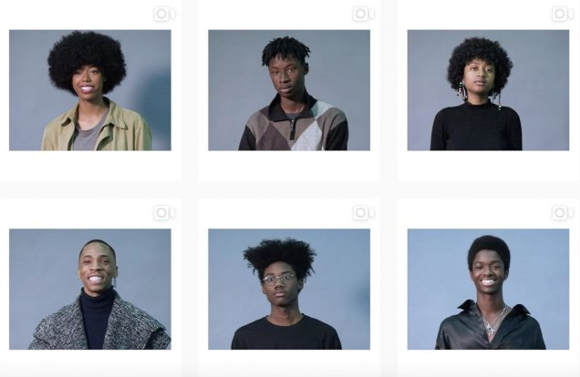 The (tentative) model lineup; Image: @gucci
