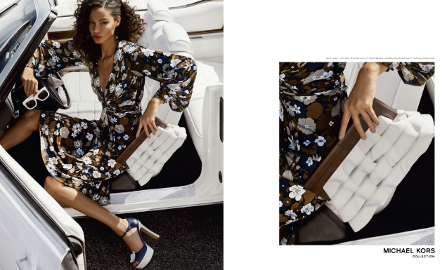 Michael Kors Collection S/S 2017 : Joan Smalls by Mario Testino