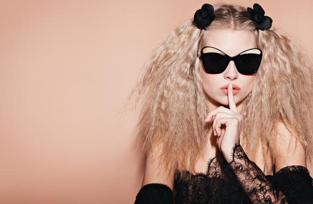 Chanel Eyewear S/S 2017 : Lottie Moss by Karl Lagerfeld