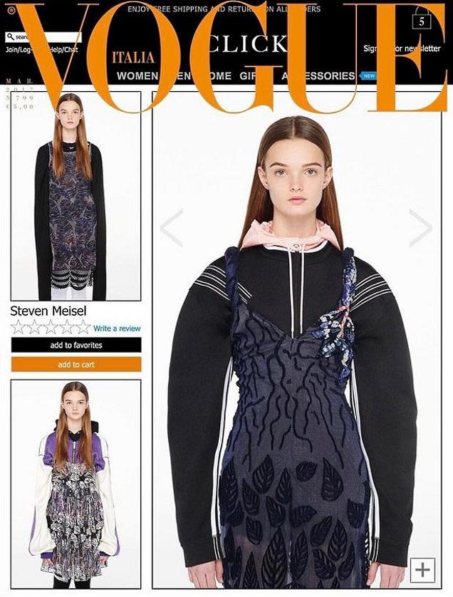 Vogue Italia March 2017 : Lulu by Steven Meisel