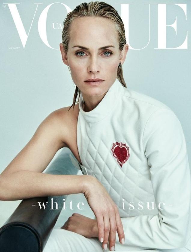 Vogue Ukraine April 2017 : Amber Valletta by Chris Colls