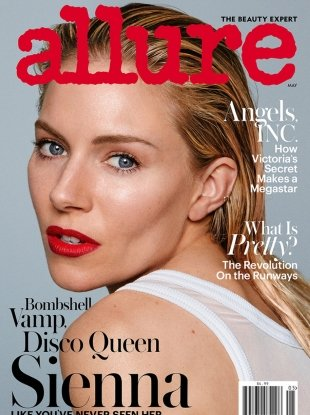 Allure May 2017 : Sienna Miller by Daniel Jackson