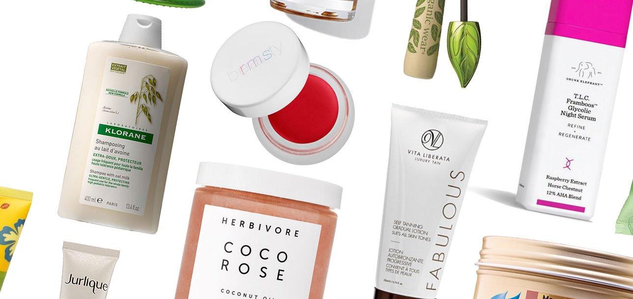 Beauty: Green Eco-Chic Organic Beauty Products catalog photo
