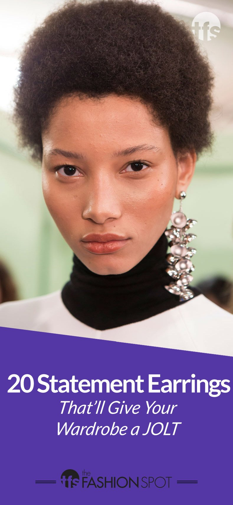 20 Artsy Statement Earrings That'll Give Your Wardrobe a Jolt