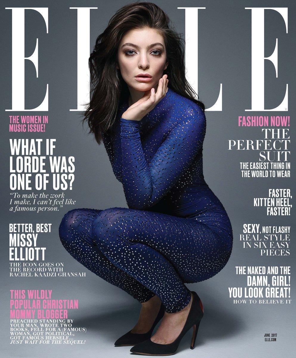 Lorde, ELLE cover June 2017