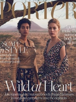 Porter #21 Summer Escape 2017 : Doutzen Kroes & Imaan Hammam