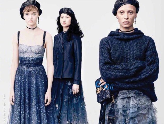 3f18cd1636 Christian Dior Fall 2017 Ad Campaign Adwoa Aboah Ruth Bell Jing Wen -  theFashionSpot