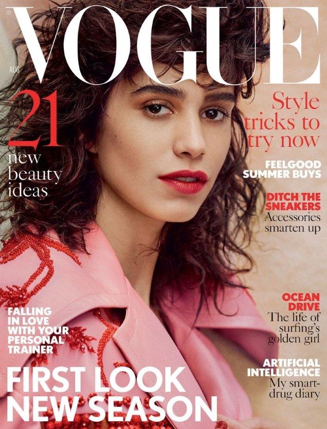 UK Vogue August 2017 : Mica Arganaraz by Craig McDean