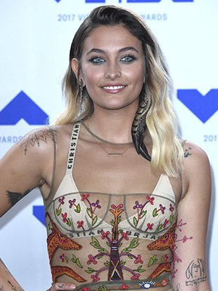 Paris Jackson at the 2017 MTV Video Awards.
