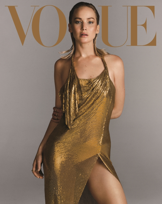 US Vogue September 2017 : Jennifer Lawrence