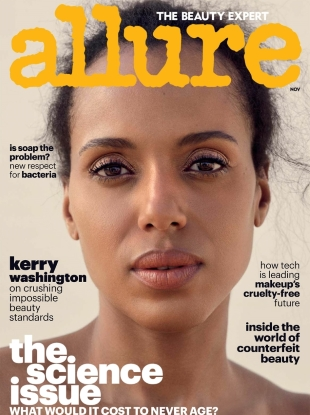 Allure November 2017 : Kerry Washington by Sharif Hamza