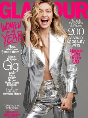 US Glamour December 2017 : The Women Of The Year Issue