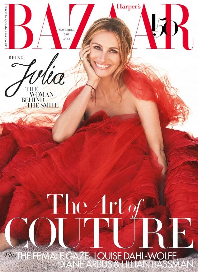 UK Harper's Bazaar November 2017 : Julia Roberts by Alexi Lubomirski