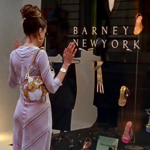 Carrie Bradshaw and her Dior Saddle bag
