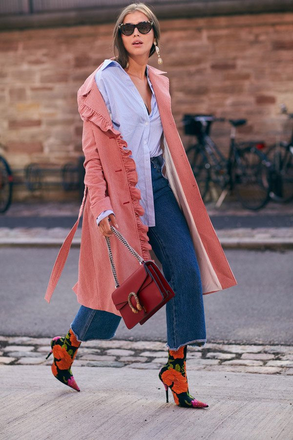 how to wear sock boots: street style