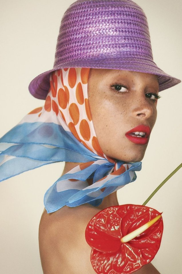 Marc Jacobs Beauty 2018 : Adwoa Aboah by David Sims