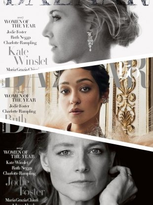 UK Harper's Bazaar December 2017 : The Women Of The Year Issue