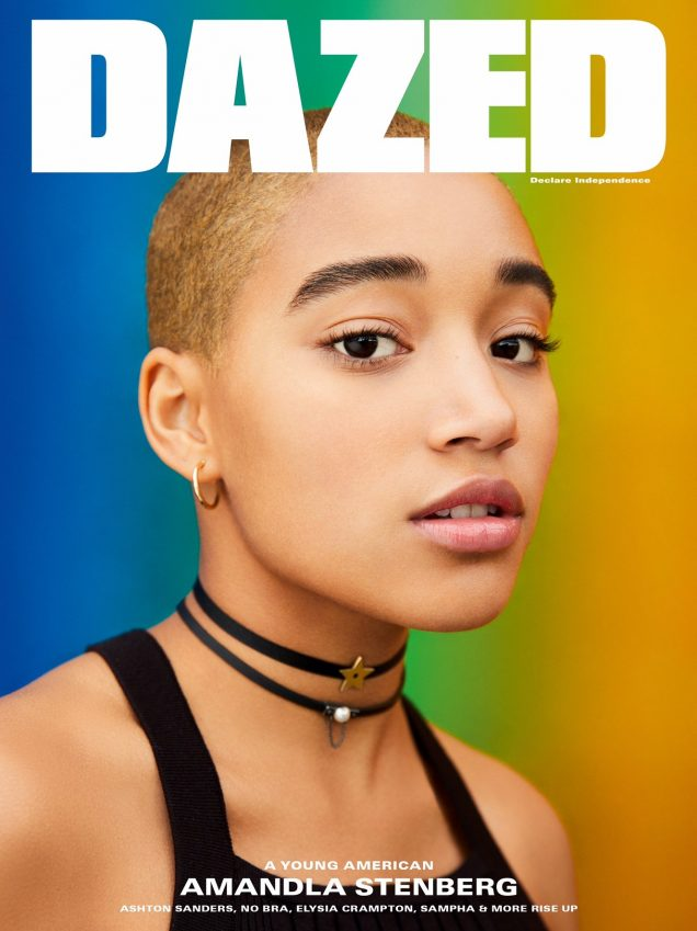 Amandla Stenberg for Dazed.