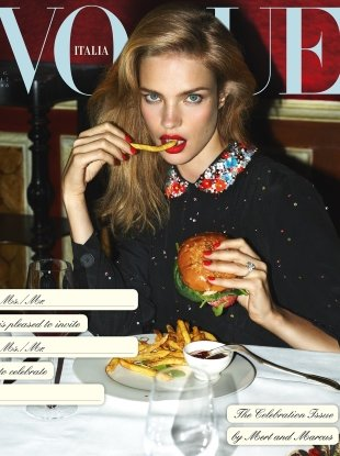 Vogue Italia December 2017 : The Celebration Issue by Mert Alas & Marcus Piggott