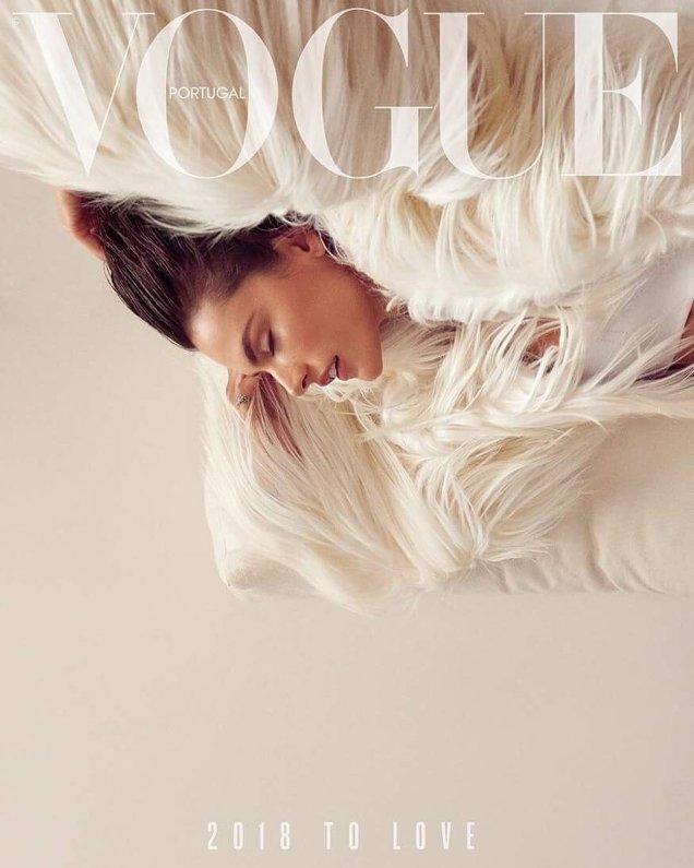 Vogue Portugal January 2018 : Alessandra Ambrosio by Branislav Simoncik