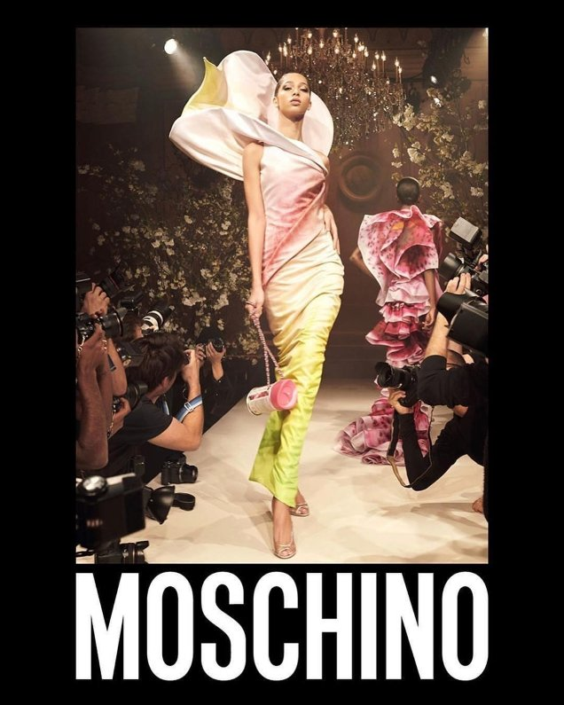 Moschino S/S 2018 by Steven Meisel
