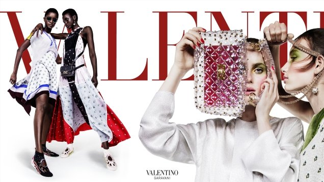 Valentino S/S 2018 by Inez van Lamsweerde & Vinoodh Matadin