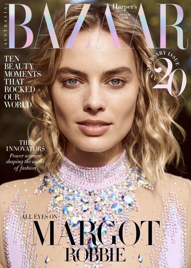 Harper's Bazaar Australia March 2018 : Margot Robbie by Max Doyle