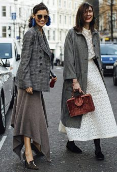 All the Best Street Style Looks From London Fashion Week to Inspire Your Mid-Winter Look