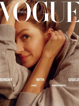 Vogue Italia February 2018 : Gisele Bündchen by Jamie Hawkesworth