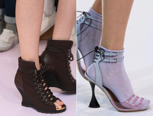 17db624a5a Spring 2018 Fashion Trend: Lace-Up Shoes - theFashionSpot