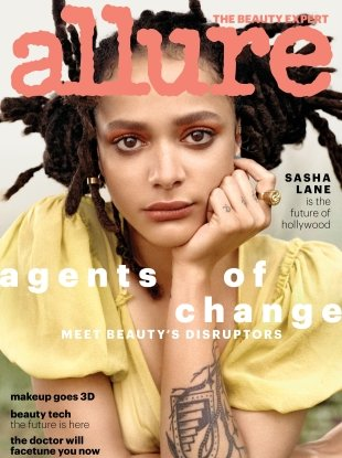 Allure May 2018 : Sasha Lane by Scott Trindle